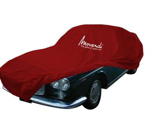 Car-Cover Satin Red für Lancia Flavia Coupe