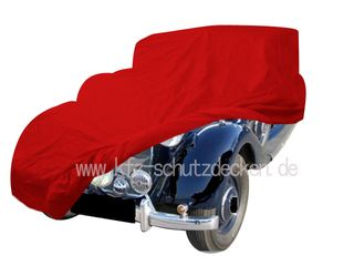 Car-Cover Samt Red for Mercedes 230 (W143)