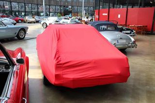 Car-Cover Satin Red für Mercedes 230SL-280SL Pagode