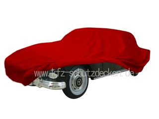 Car-Cover Satin Red für Mercedes 300D (W189)