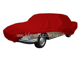 Car-Cover Satin Red für Mercedes 300SE/L (W109)