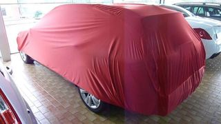 Car-Cover Satin Red für Mercedes C-Klasse S204 ab 2007