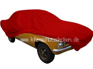 Car-Cover Satin Red für Opel Ascona A
