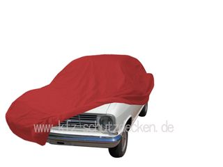 Car-Cover Satin Red für Opel Kadett B-Coupe