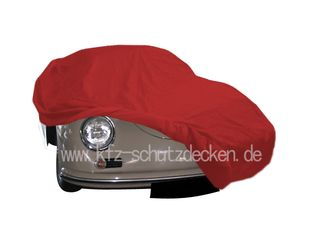 Car-Cover Satin Red für Porsche 356 Speedster
