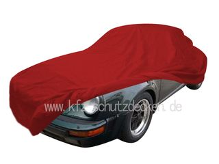 Car-Cover Samt Red for Porsche 911 Speedster