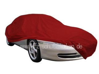 Car-Cover Satin Red für Porsche 996 GT2 / GT3