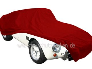 Car-Cover Satin Red für AC Cobra