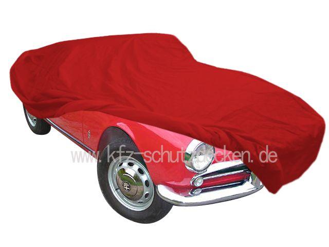 Autoabdeckung Vollgarage CarCover Samt Red Für Alfa Romeo Giulie - Alfa romeo car cover