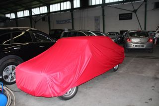 Car-Cover Satin Red für Alfa Romeo Giulia