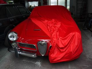 Car-Cover Satin Red für Alfa Romeo Touring Spider
