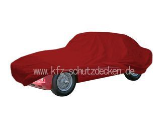 Car-Cover Samt Red for Aston Martin DB2