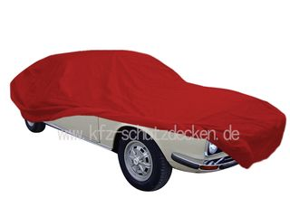 Car-Cover Satin Red für Audi 100 Coupe
