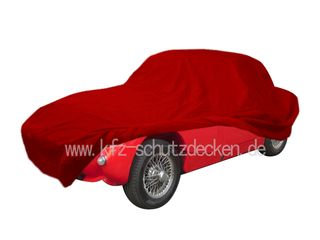 Car-Cover Satin Red für Austin Healey Sprite Frosch