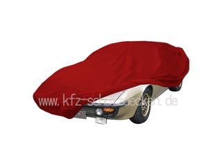 Car-Cover Satin Red für Bitter CD