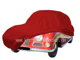 Car-Cover Satin Red für BMW 502