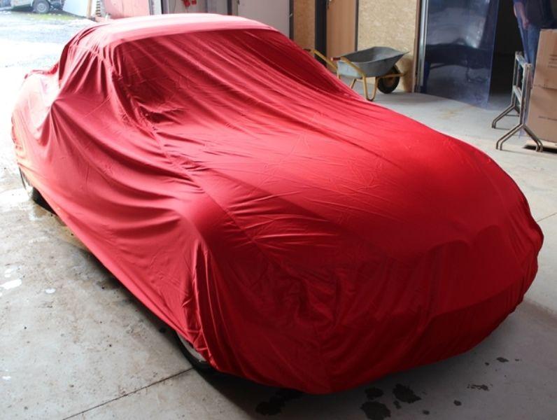 Autoabdeckung Vollgarage Car Cover Samt Red F 252 R Bmw Z3