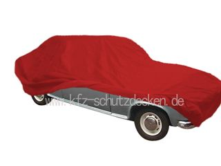 Car-Cover Satin Red für Borgward Isabella