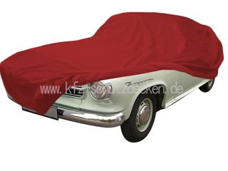 Car-Cover Satin Red für Borgward Isabella Coupe / Cabrio