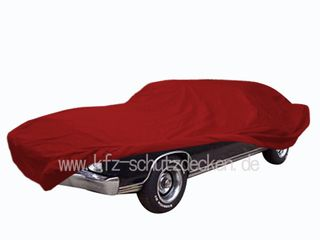 Car-Cover Satin Red für Chevrolet Montecarlo