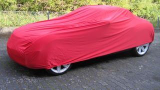 Car-Cover Satin Red für Chrysler Crossfire
