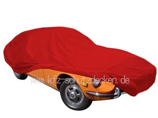 Car-Cover Satin Red für Datsun 260 Z 2+2