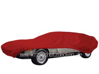 Car-Cover Satin Red für DeLorean
