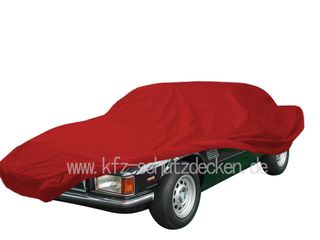 Car-Cover Satin Red für De Tomaso Longchamp