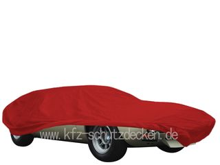 Car-Cover Satin Red für De Tomaso Mangusta