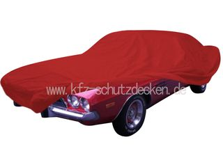 Car-Cover Satin Red für Dodge Challenger 1969-1974