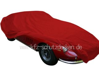 Car-Cover Satin Red für Ferrari 250 GT Lusso