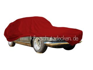 Car-Cover Satin Red für Ferrari 330GT 2+2