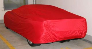 Car-Cover Satin Red für Ferrari F360 und F360 Spider