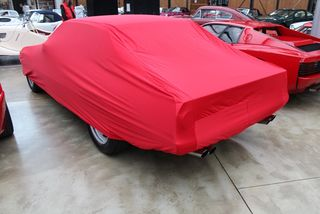 Car-Cover Satin Red für Ferrari 400/412