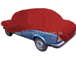 Car-Cover Samt Red for Fiat 128