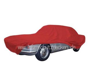Car-Cover Satin Red für Fiat 2300 S Coupé