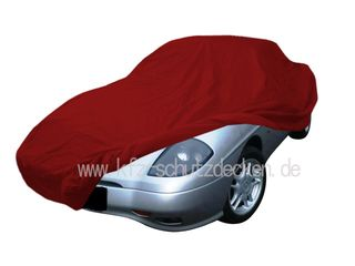 Car-Cover Satin Red für Fiat Barchetta