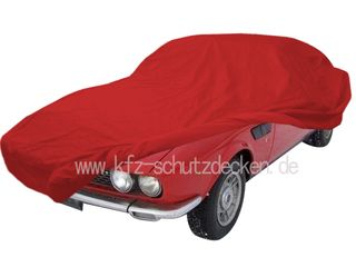 Car-Cover Satin Red für Fiat Dino Coupé