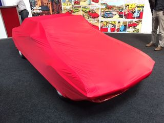 Car-Cover Satin Red für Fiat X 1/9
