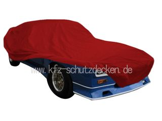 Car-Cover Satin Red für Capri