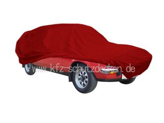 Car-Cover Satin Red für Escort 1 (Hundeknochen)