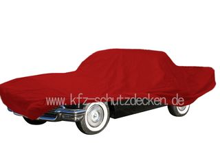Car-Cover Satin Red für Thunderbird 1956-1957