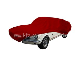 Car-Cover Satin Red für Mustang 1964-1970