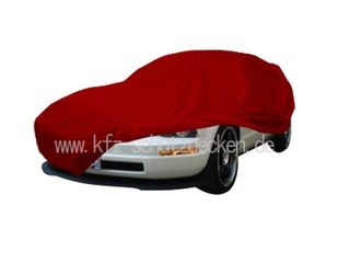 Car-Cover Satin Red für Ford Mustang ab 2005