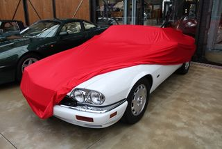 Car-Cover Satin Red für Jaguar XJS 1975-1996