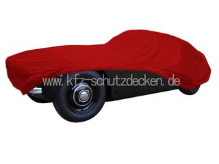Car-Cover Satin Red für Jaguar XK 120