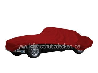 Car-Cover Satin Red für Jaguar XK 150