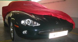 Car-Cover Satin Red für Jaguar XK8