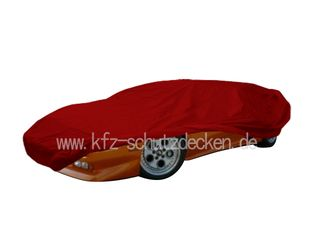 Car-Cover Satin Red für Lamborghini Diabolo