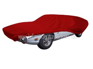Car-Cover Satin Red für Lamborghini Espada
